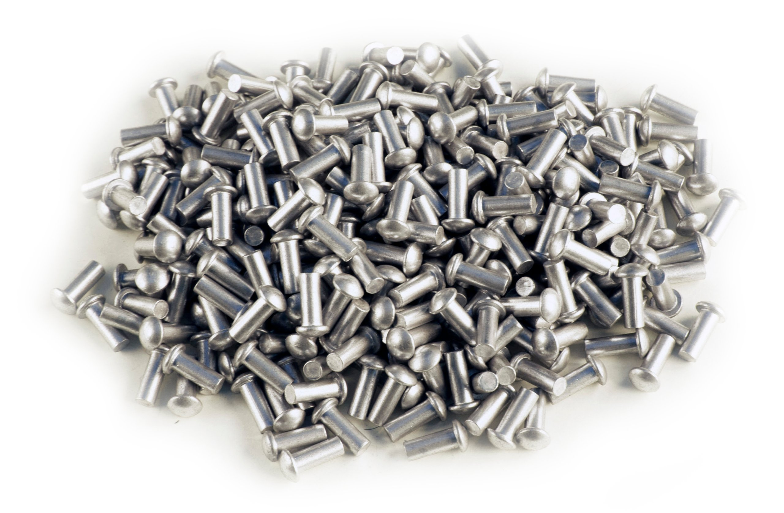 Hliník! Hliníkové nity 3/10 mm 50 ks