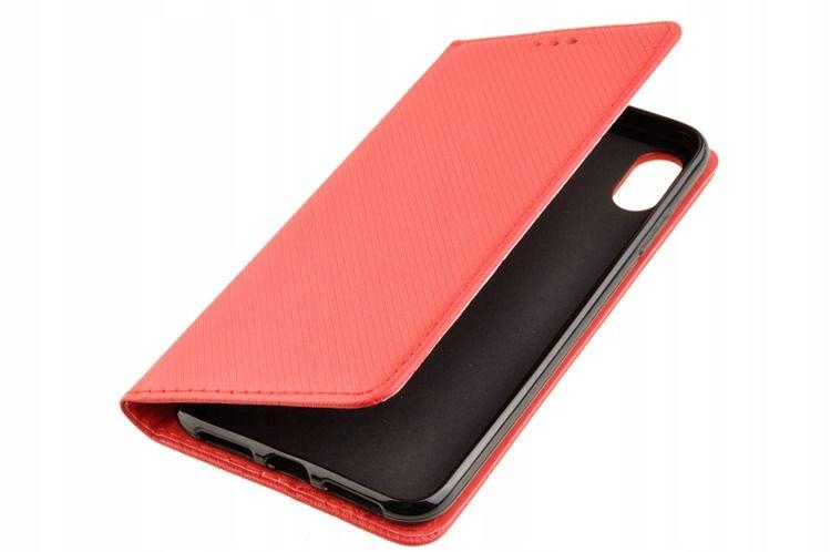 Etui obudowa Smart do Apple iPhone X Xs czerwony