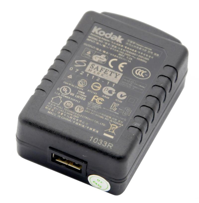 Kodak USB nabíjačka 5V 1A - M320 M340 M341 MD41 FV