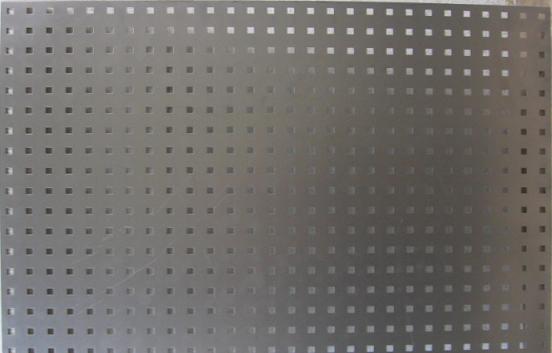 Blacha perforowana płyta duża stal czarna896x640mm