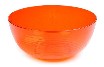 Plastový šalát čerstvý 1l oranžový