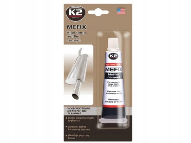 K2 MEFIX цемент для ремонта глушителя, выхлопной 140g