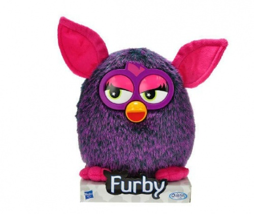 Hasbro Plush Furby Purple 20cm Mascot