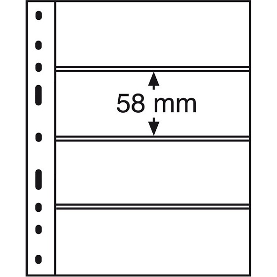 Leuchtturm - strana OPTIMA 4 C na bankovkách atď.