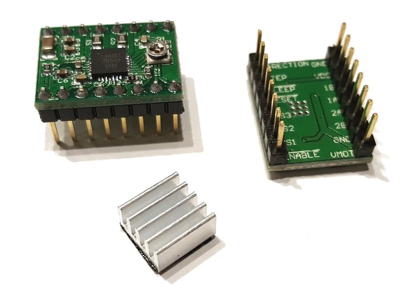 Stepstick A4988 pre Ramps 1.4 Zníženie 3D tlačiarne + R