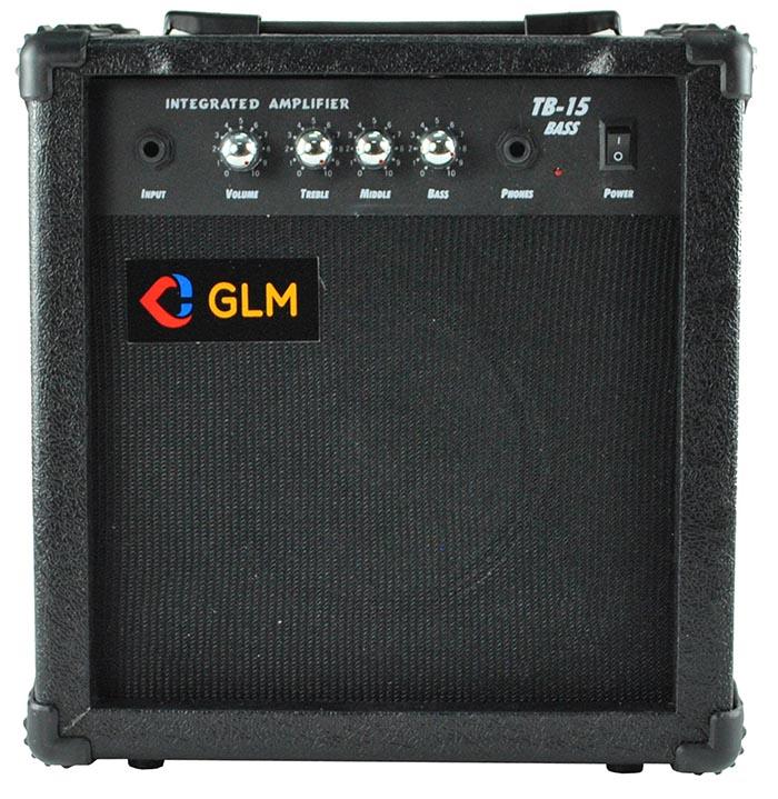 Bass zosilňovač - na gitaru Combo GLM TB-15W