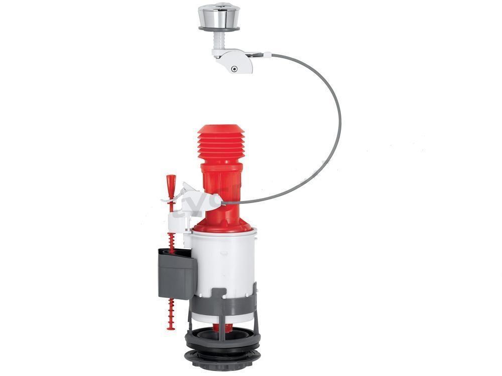 Odtokové ventil toalety cistern na kábel 3/6L kompaktu