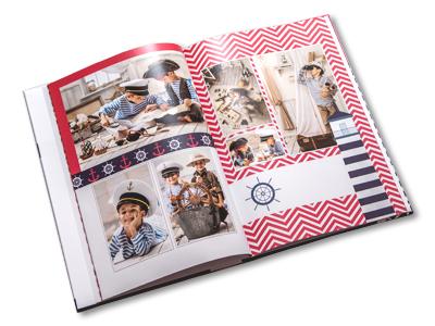 Item 28 pages, format A4 Vertikal photobook photo book album