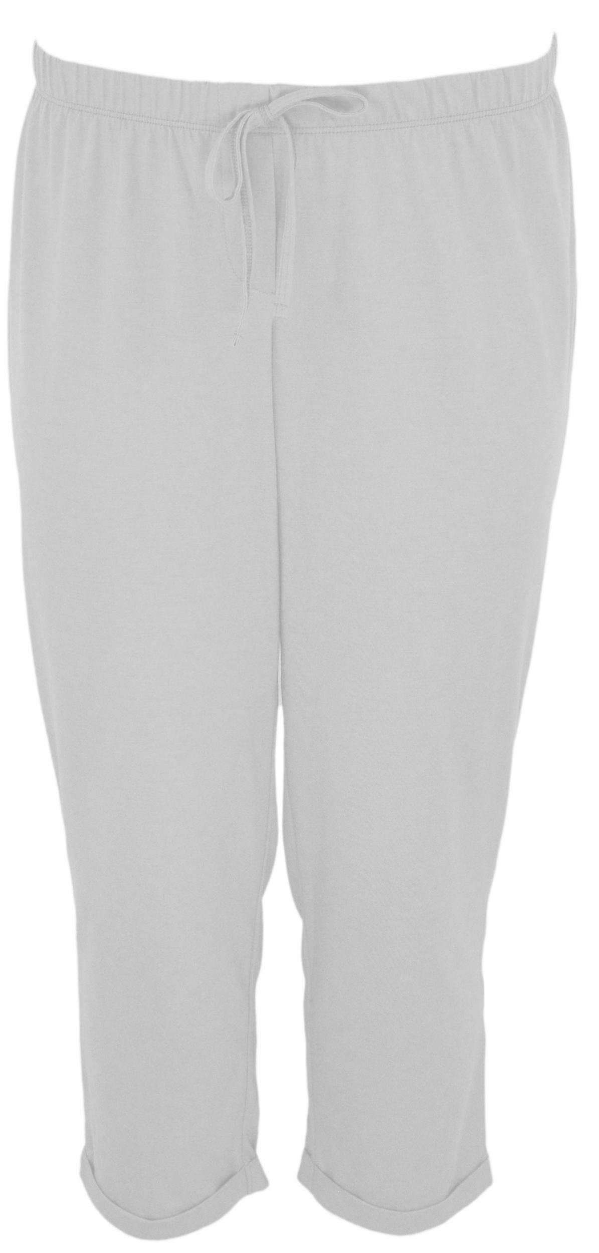 Intimissimi spodnie 7/8 bawełna piżama białe M