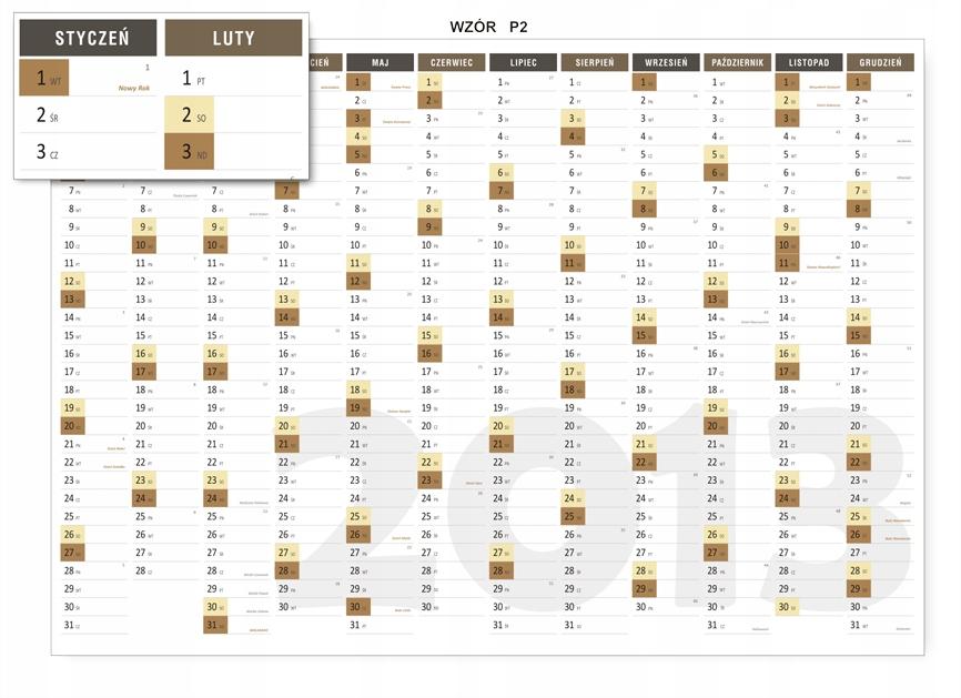 ПЛАНИРОВЩИК на стену, календарь А1 59,4 х 84,1 см