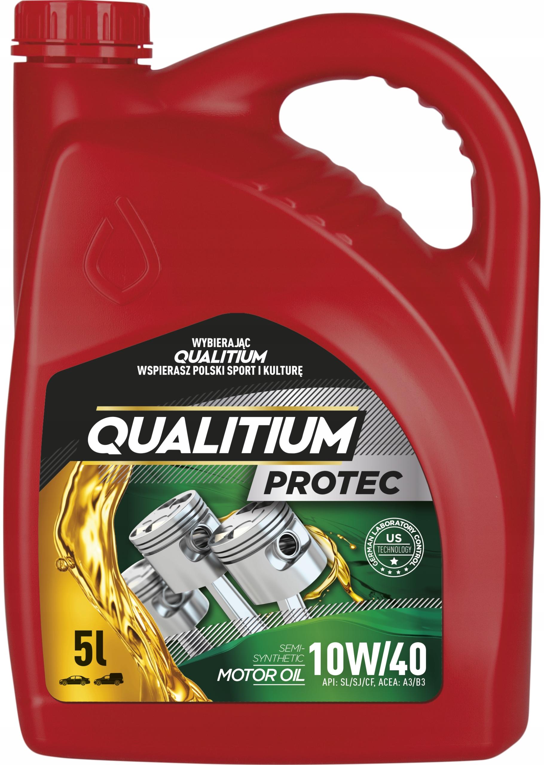 QUALITIUM PROTEC 10W40 5L Полусинтетическое масло