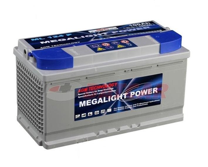 Batérie PRE LOĎ thermotrousers MEGAlight 100 Ah AGM, GEL