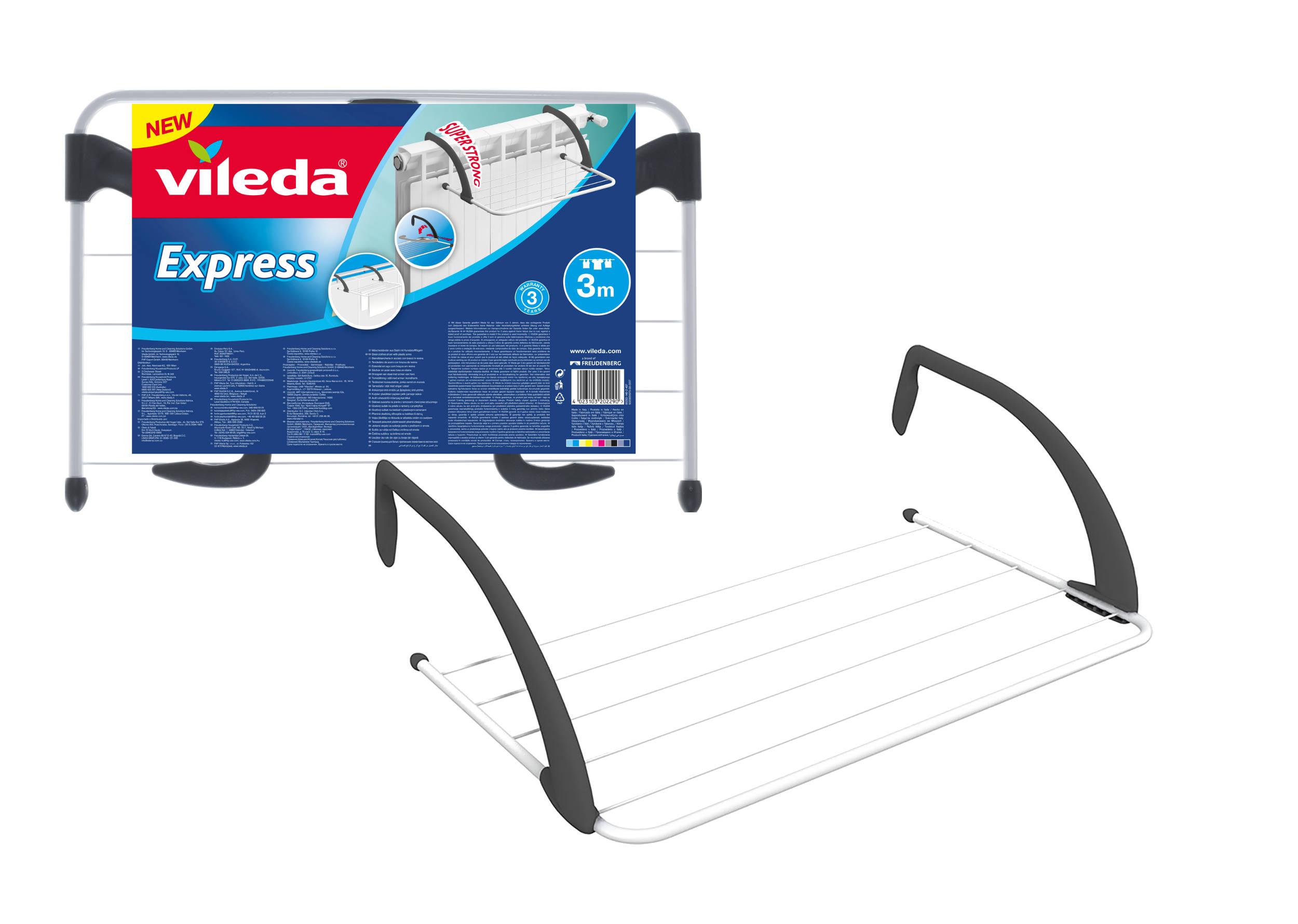 Радиатор сушилка радиатора мыть Vileda Экспресс