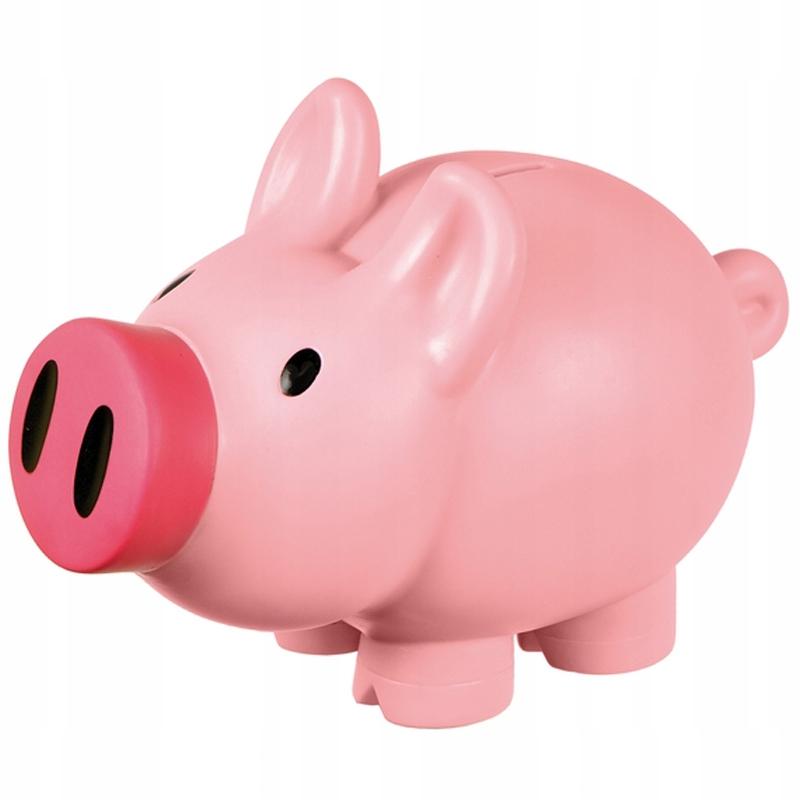 картинки свинка копилка розового цвета дню