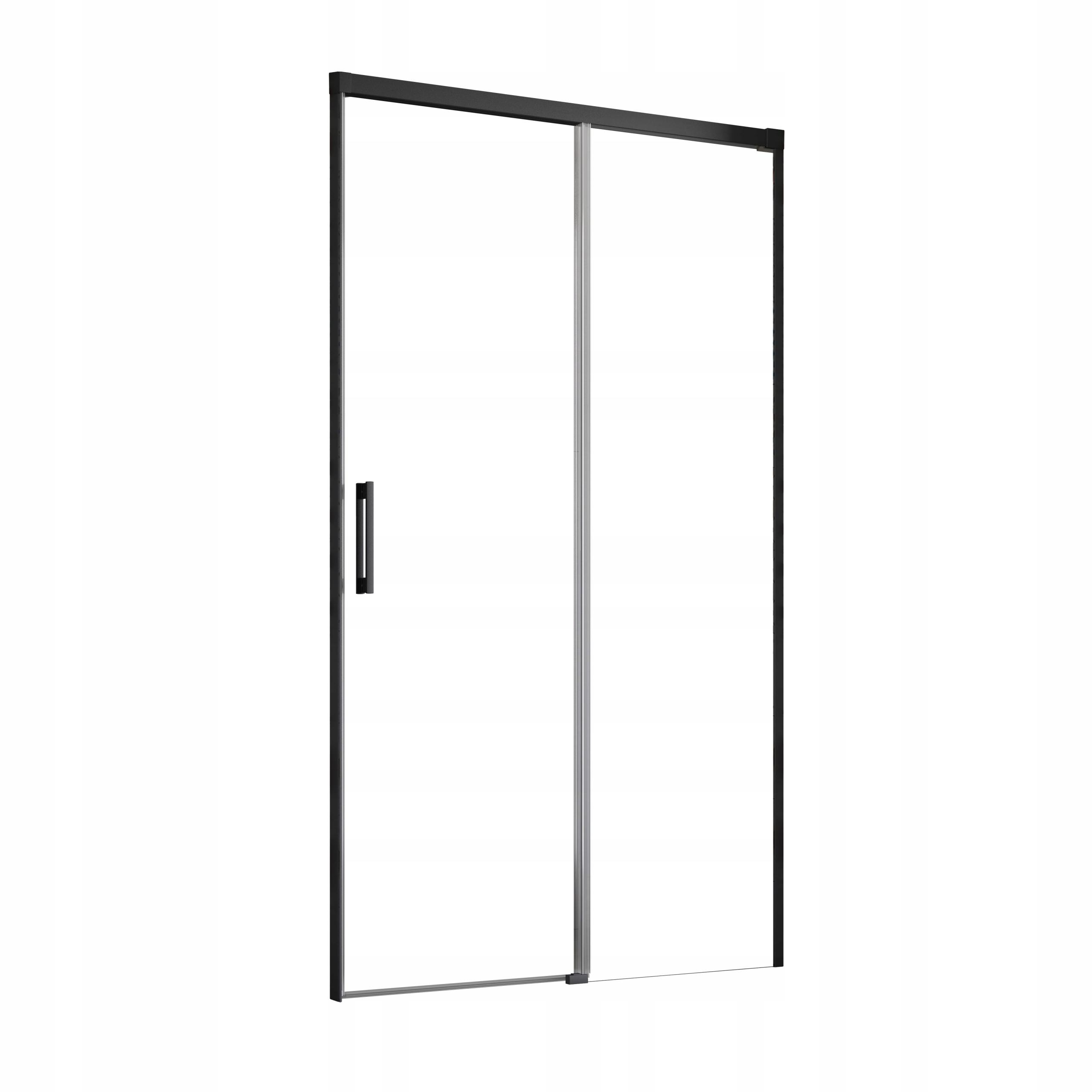 Idea Black sprchové dvere DWJ 110x200 RADAWAY