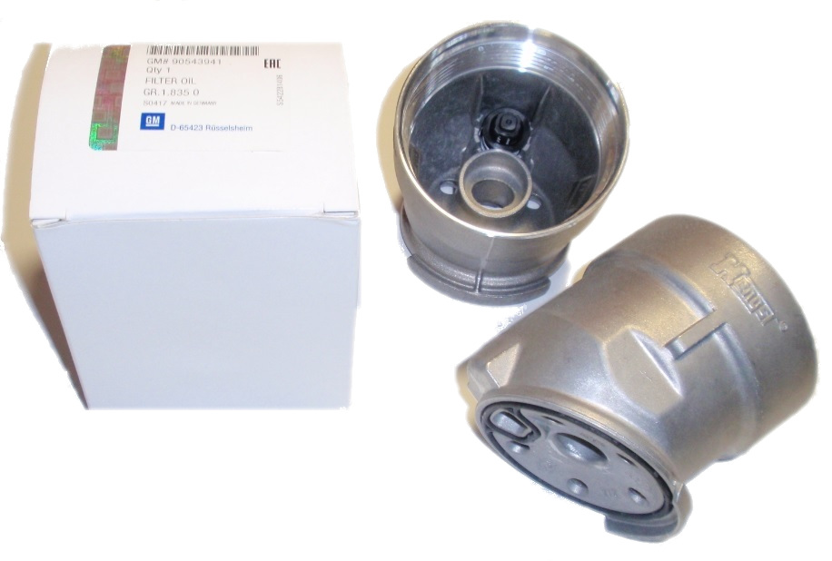 корпус фильтра масла opel astra g zafira 18 16v
