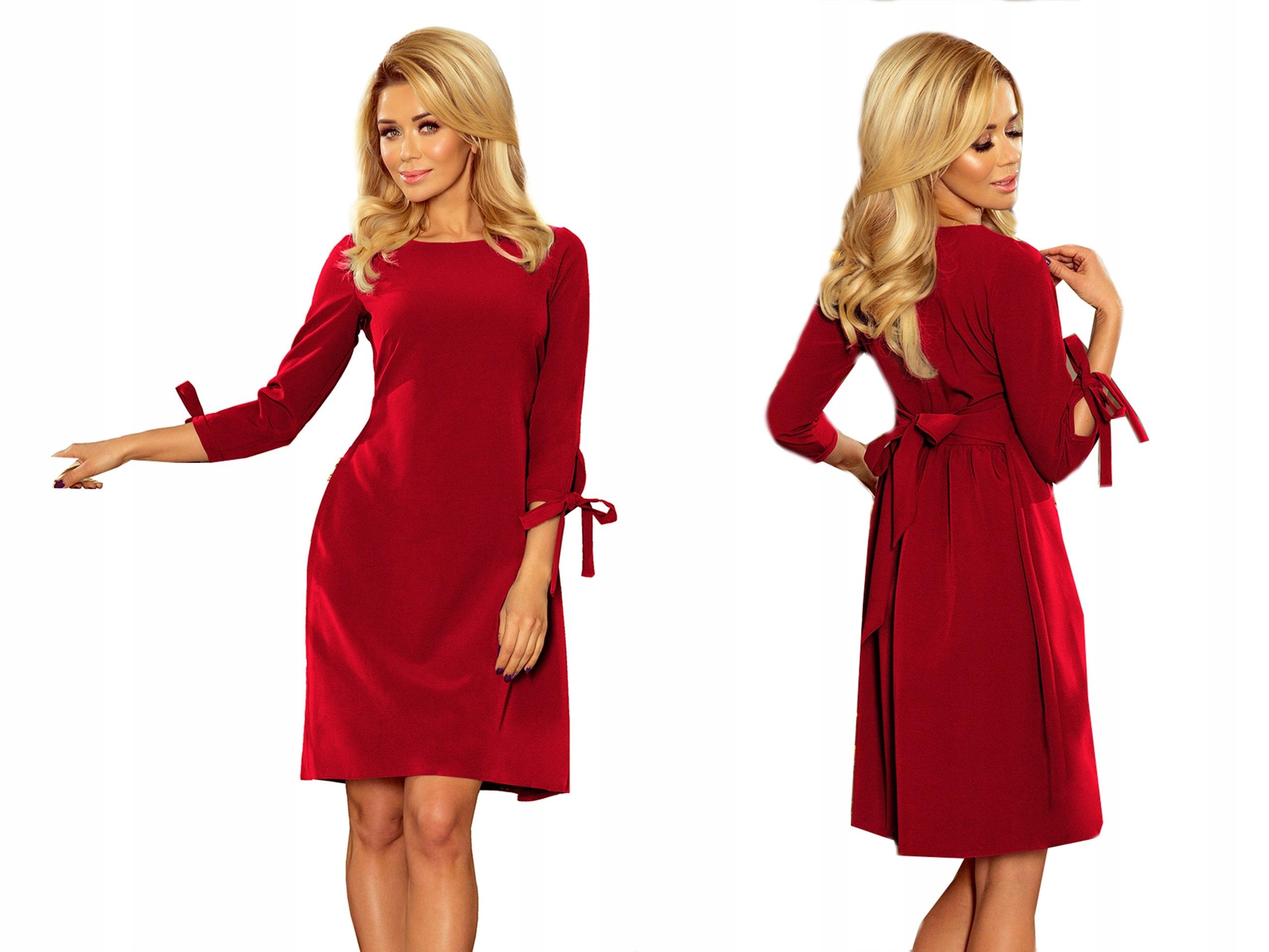 10013f8608 WYGODNA Sukienka NA URODZINY OKAZJĘ 195-3 XL 42 7582519488 - Allegro.pl
