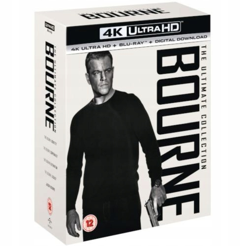 Item BOURNE ULTIMATE COLLECTION 4K ULTRA HD|BLU-RAY PL