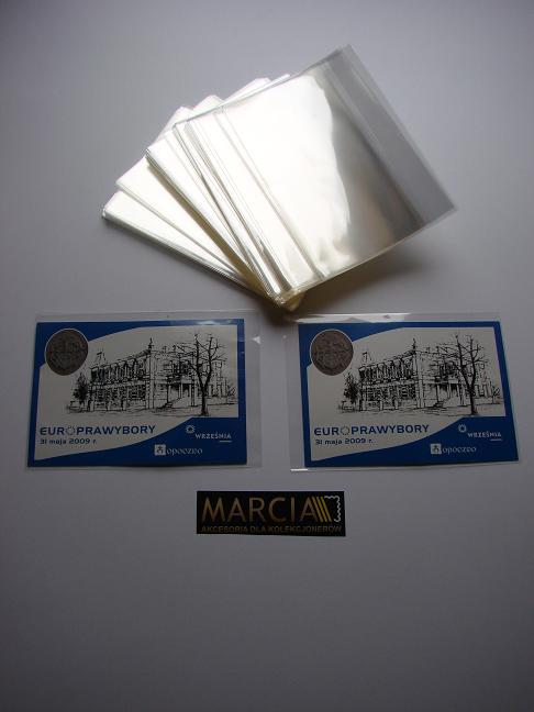 Kieszonki Ochronne 250g na pocztówki itp 120 x 170