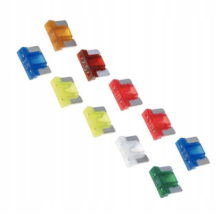 предохранители автомобильные пластинчатые низкий micro компл
