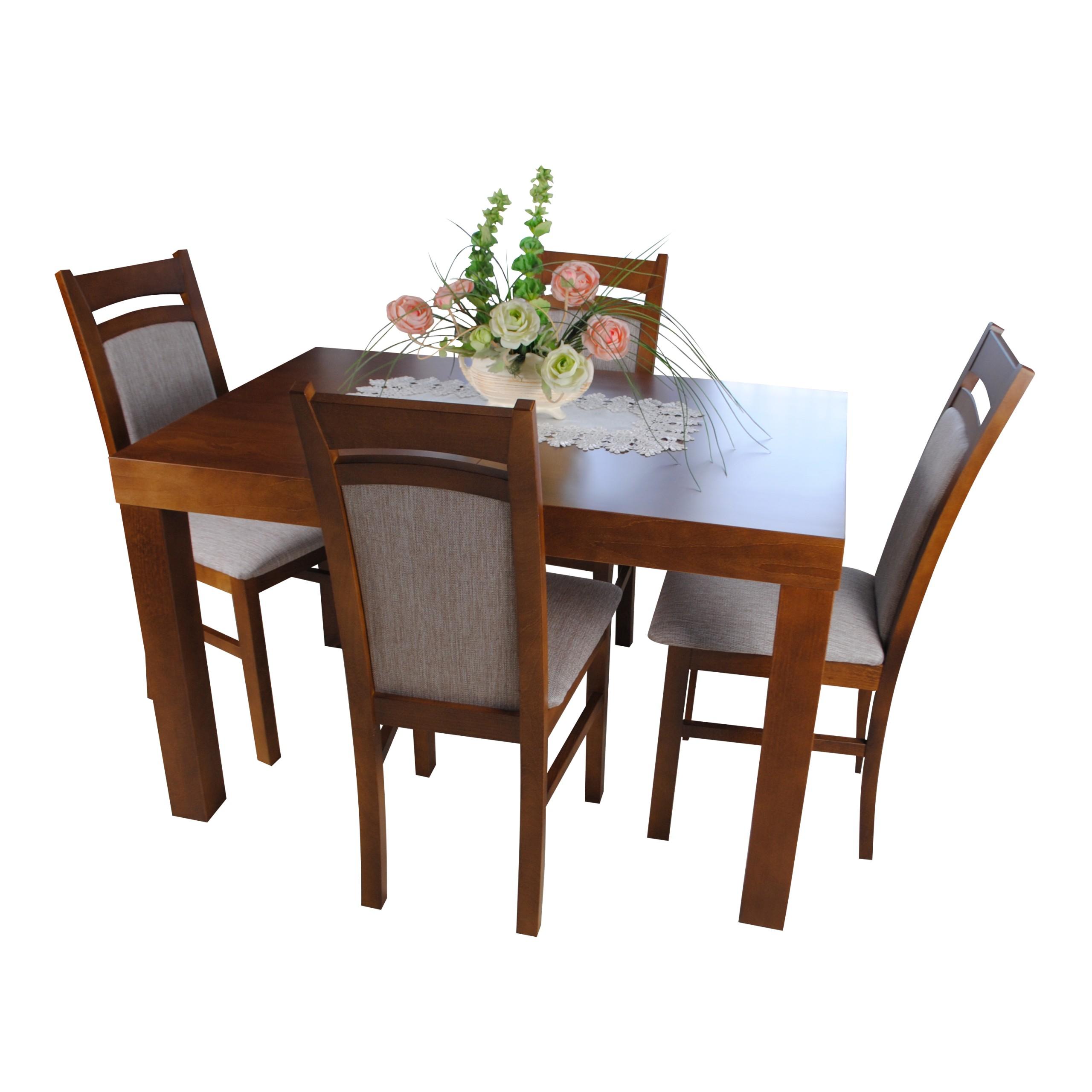 Jadalnia Salon 7278679917 4 Pl Krzesła Zestaw Allegro Stół