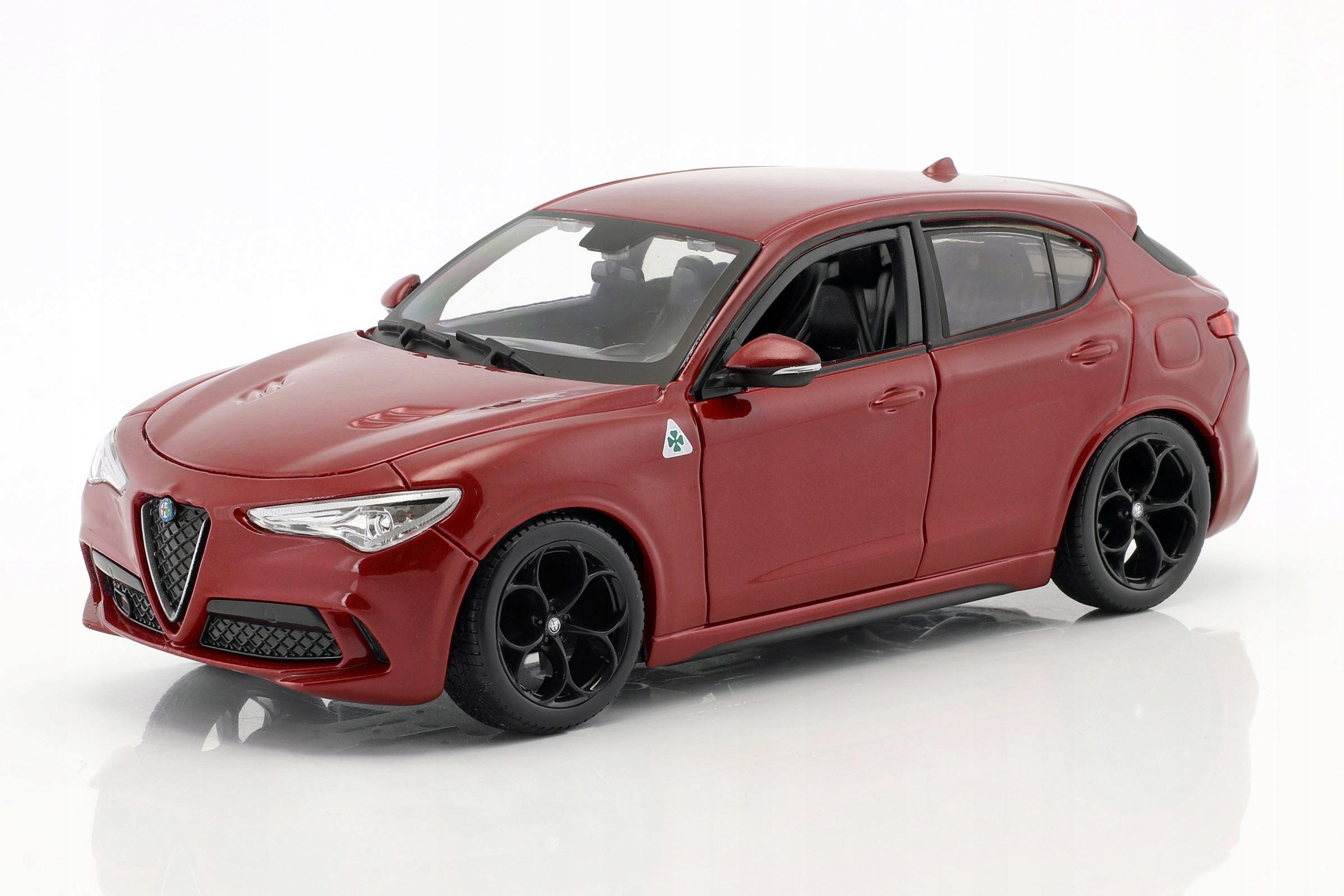 Alfa Romeo Stelvio 2017 Bburago 1 24 21086 Nowosc 7694491793 Allegro Pl