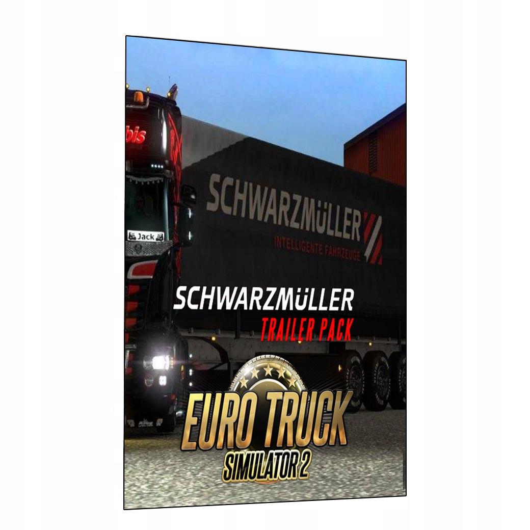 Купить Euro Truck Simulator 2 Schwarzmuller Трейлер Обновления на Otpravka - цены и фото - доставка из Польши и стран Европы в Украину.