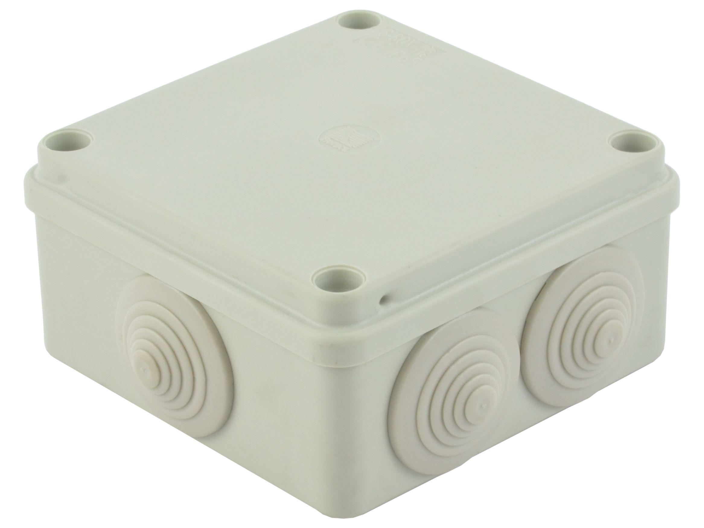 Puszka obudowa na tynk hermetyczna 10x10x5cm IP65