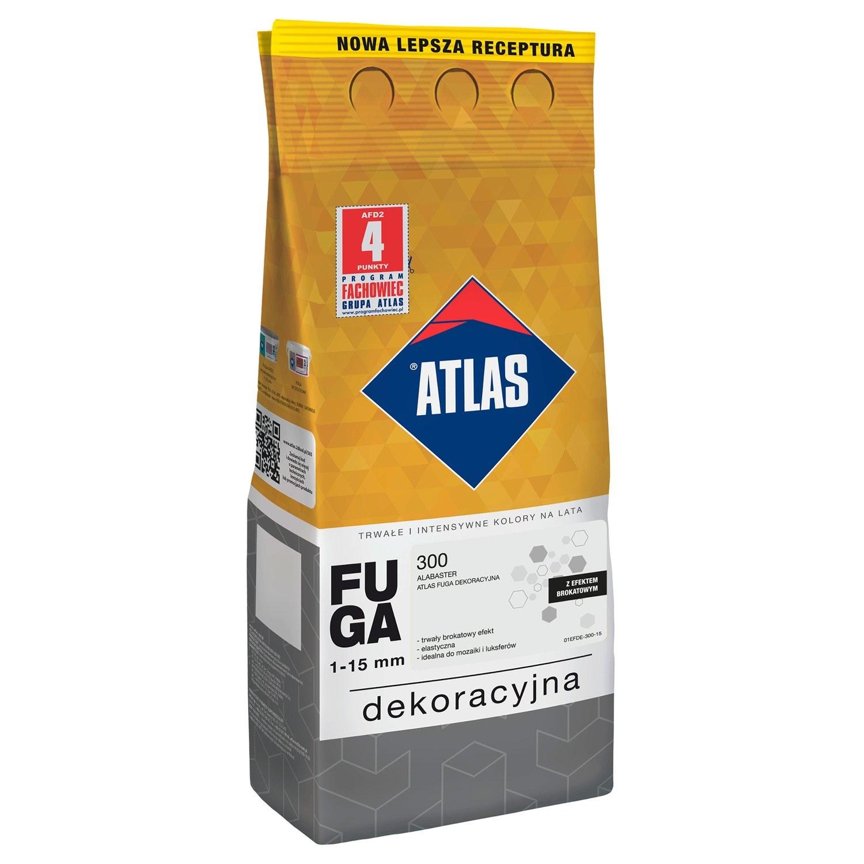 ATLAS FUGA DEKORACYJNA BROKATOWA 2kg - 5 KOLORÓW !