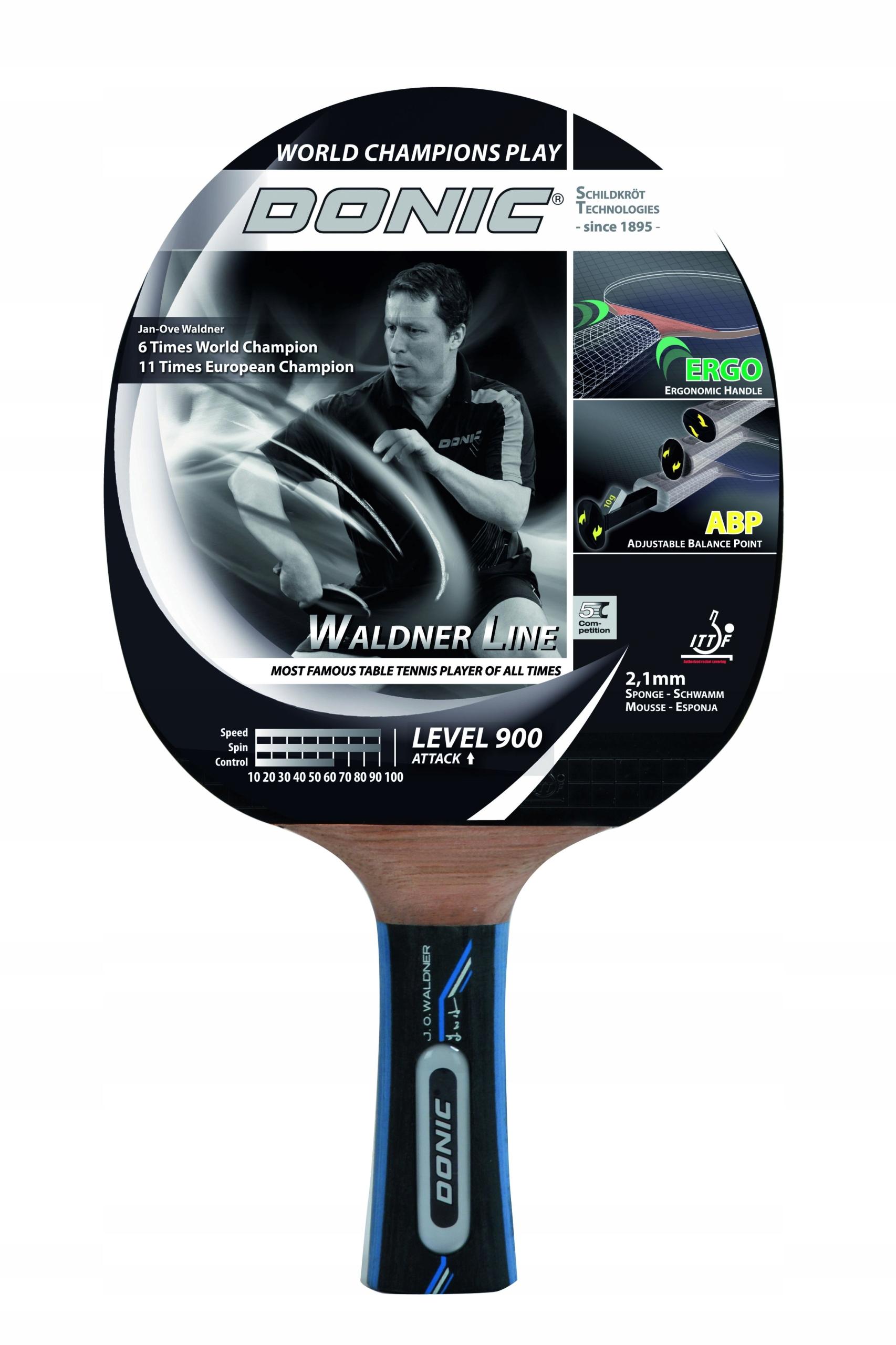 Ракетка-палитра для пинг-понги DONIC WALDNER 900