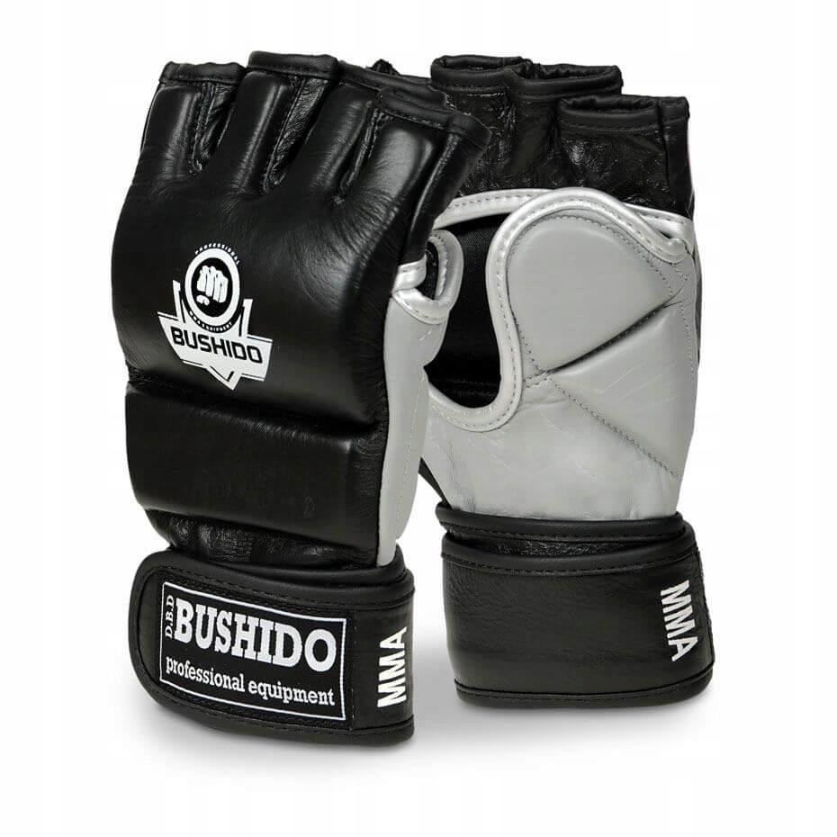 MMA Tréningové rukavice, na vrece, koža, BUSHIDO XL