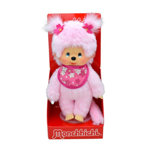 Monchhichi 242894 Pink Monkey Child