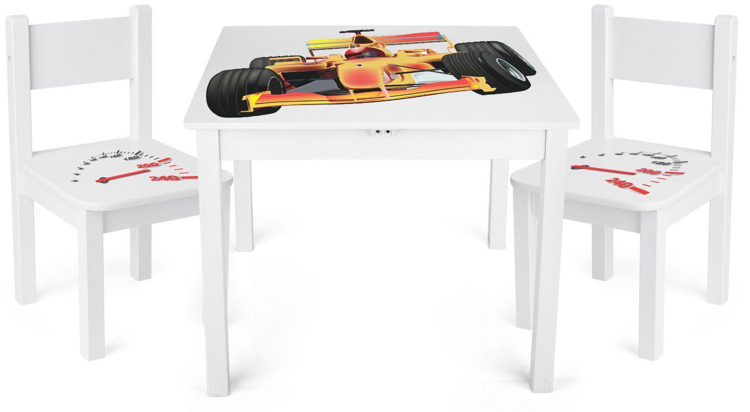 Стол с двумя стульями Yeti 244159 F1
