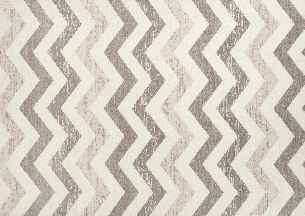 Koberec koberec vintage Dekor VENA šedo-hnedá 160x230