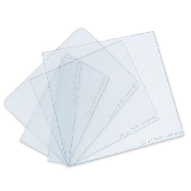 Rýchly polykarbonátový filter PVC pre masku 95x97.5