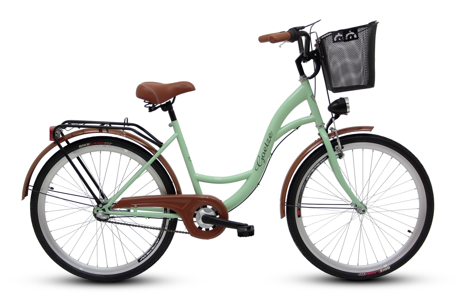 Dámsky mestský bicykel GOETZE 26, 3-rýchlostný kôš zadarmo!  Počet prevodových stupňov 3