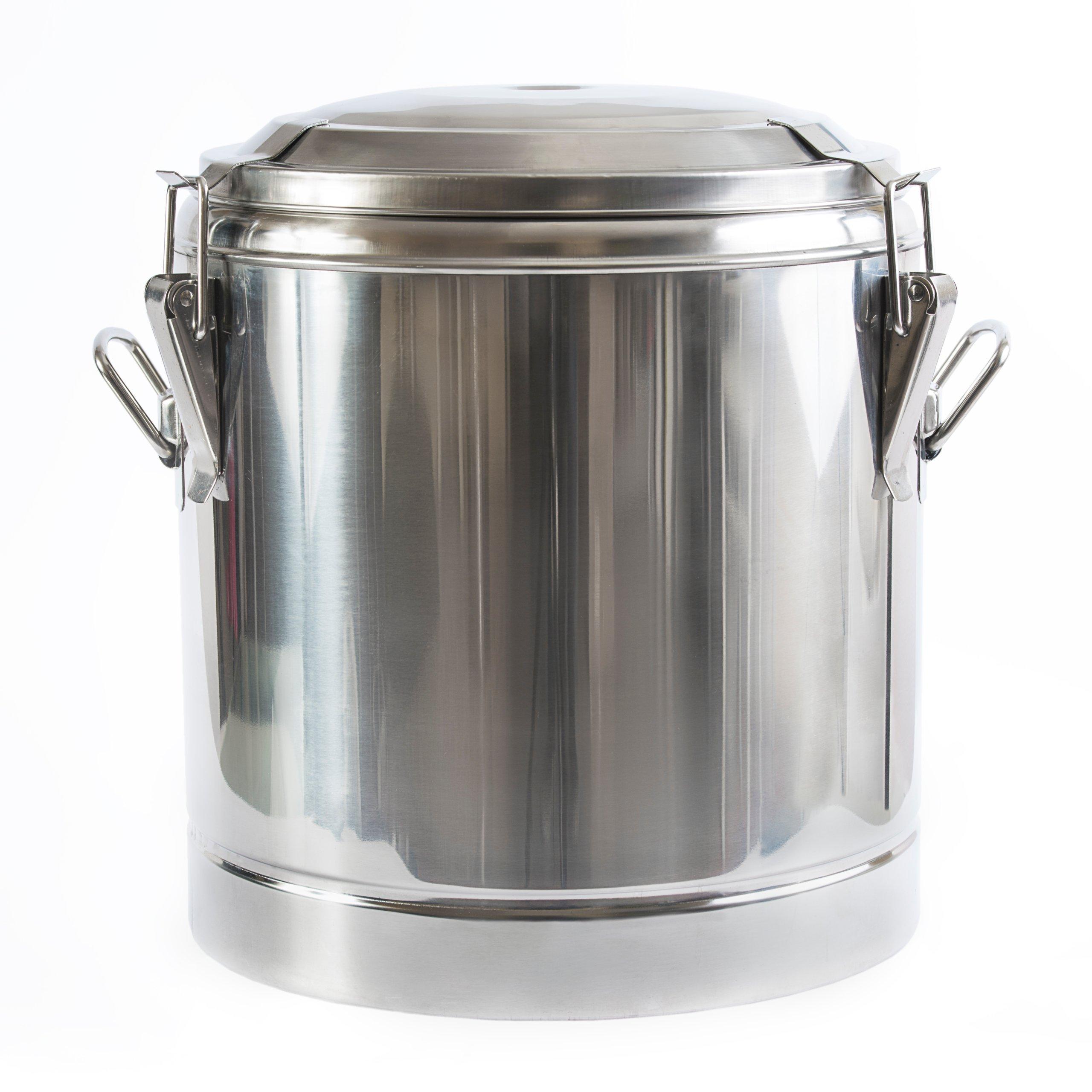 Купить Термос 20 Л стальной 22 посуды для пищевых продуктов на Otpravka - цены и фото - доставка из Польши и стран Европы в Украину.