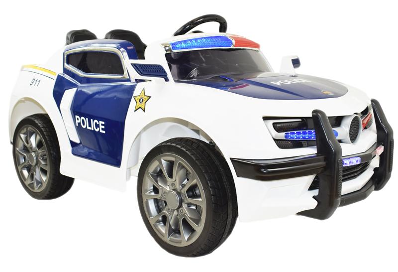 SUPER POLICAJNÉ AUTO BATÉRIE MÄKKÉ KOLIESKA