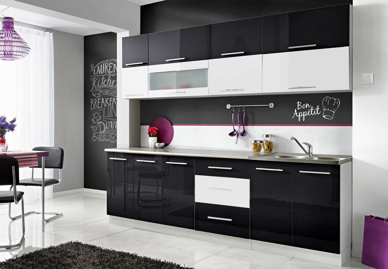 Кухонная мебель MONIKA N -10 KOLORÓW - MDF Gloss