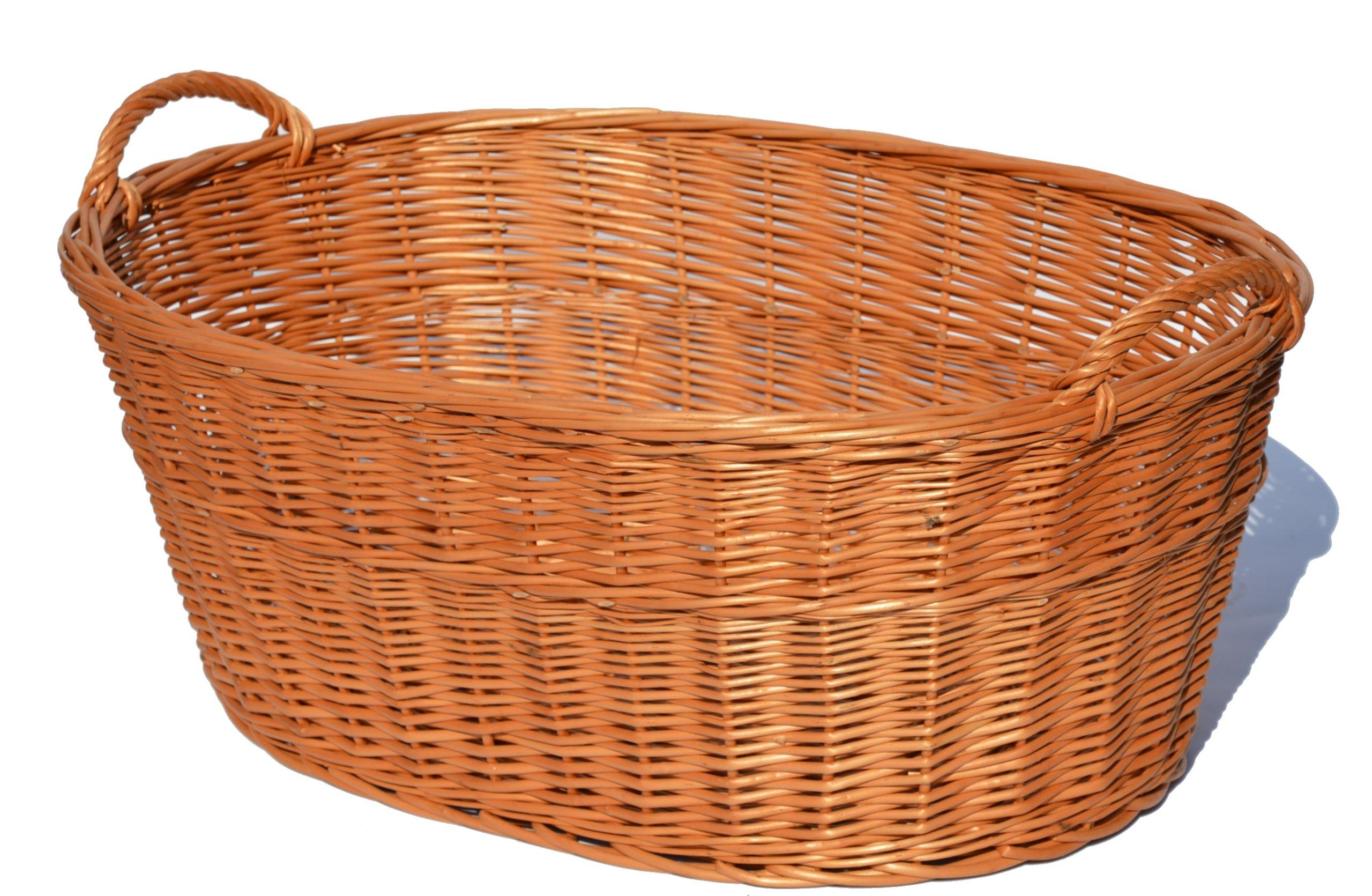 Maggle košík na pranie prútie prútie 50 cm silné