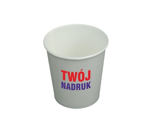Papierové poháre 100 ml s tlačou 2 farby