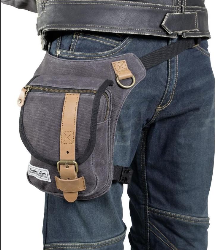 Taška špeciálne oblečenie pre motocyklistov v nohe, moderný, RETRO CAFE RACER