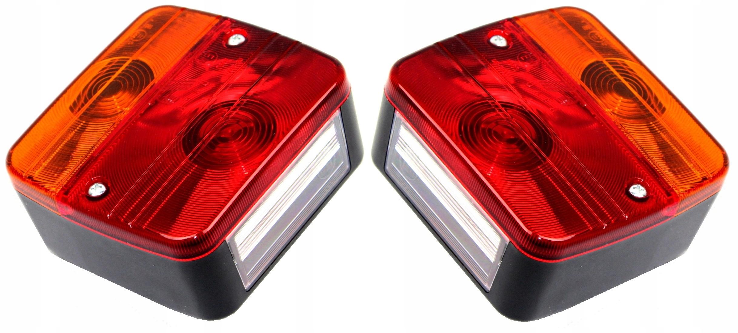 лампа мост фонарь прицепа Лампа 12v пара