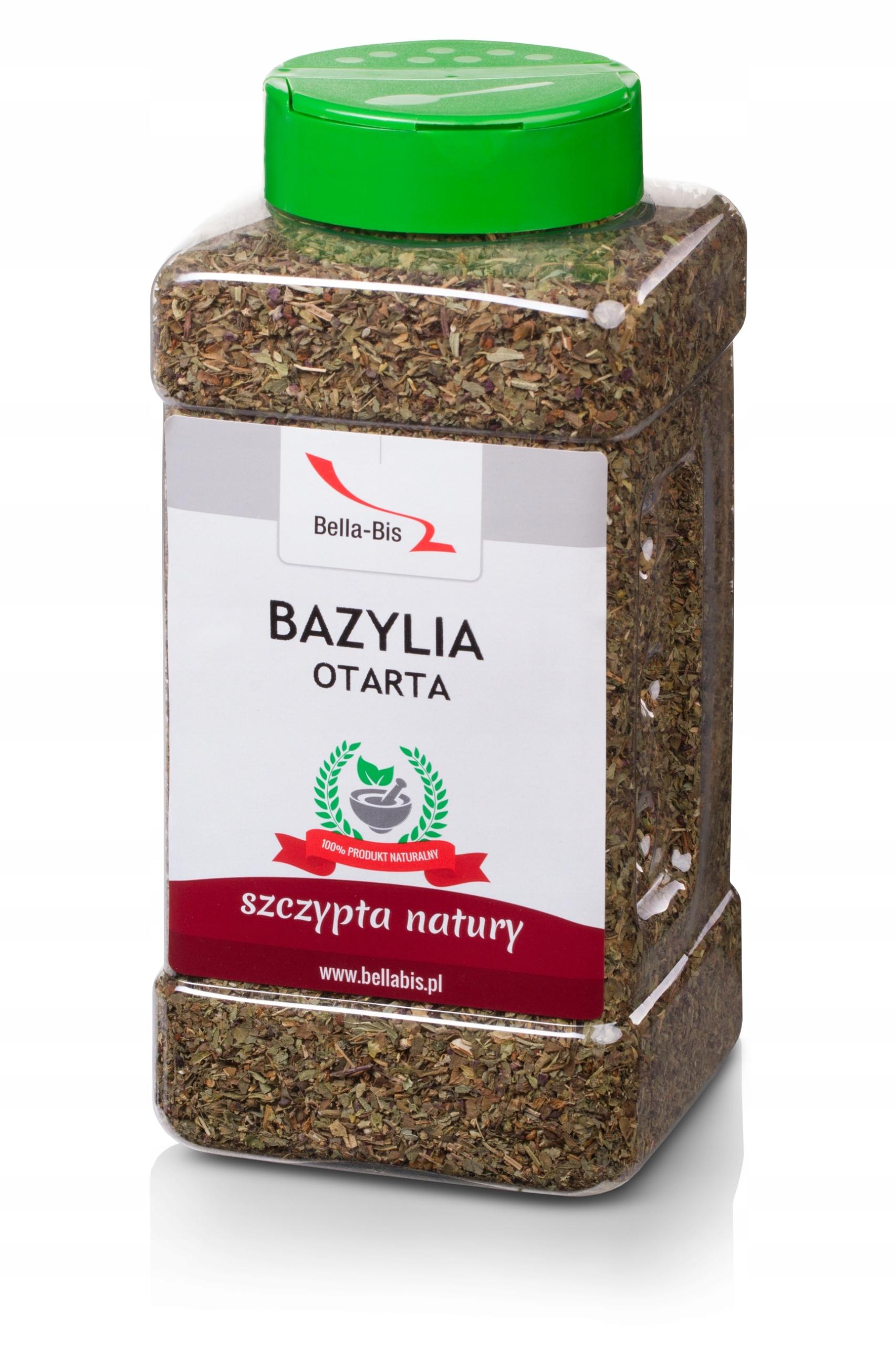 Bazylia 200g Naturalna Sloik Bella Bis 6719314627 Allegro Pl