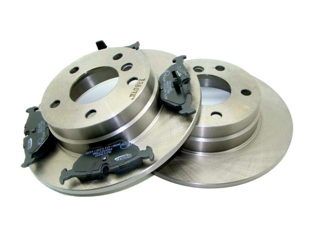диски + колодки bmw e36 e46 280x10mm сзади полное
