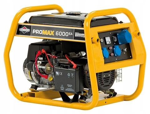 Generator ProMax6000EA moc 4800W, 10 KM B&S Va