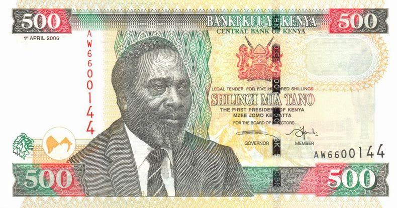 KENIA KENYA 500 Shillingi 2006 P-50c UNC