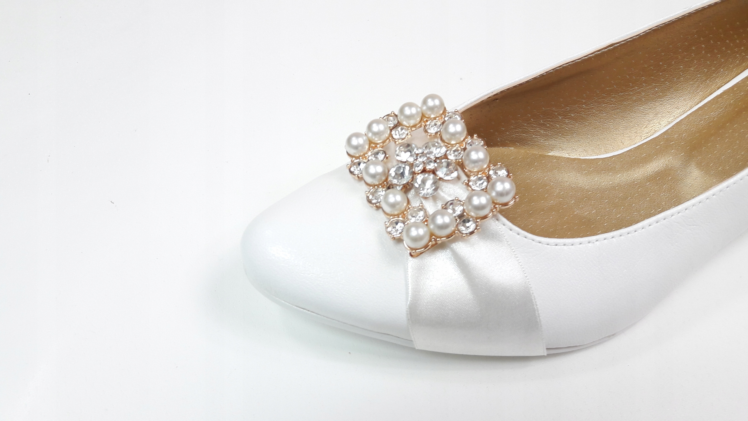 2b99fc32 buty ślubne obuwie damskie wygodne niskie IVORY 44 7641369661 - Allegro.pl