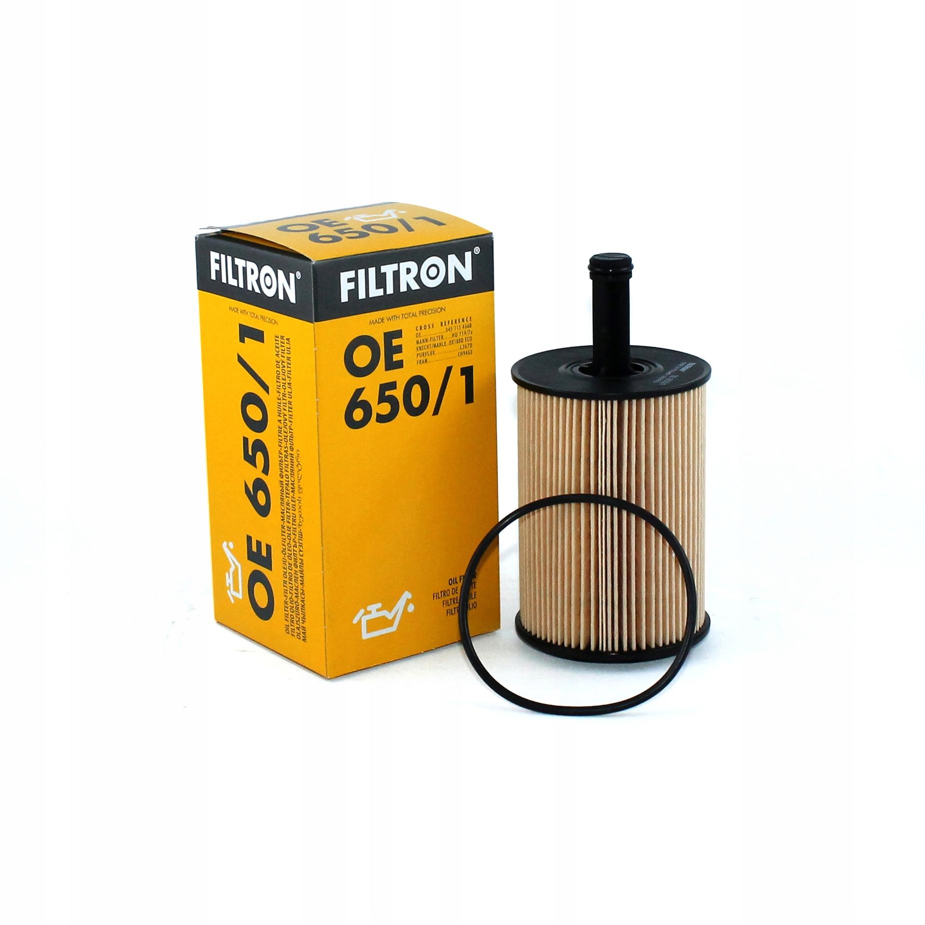 фильтр масла audi seat skoda vw 2 0 tdi oe6501
