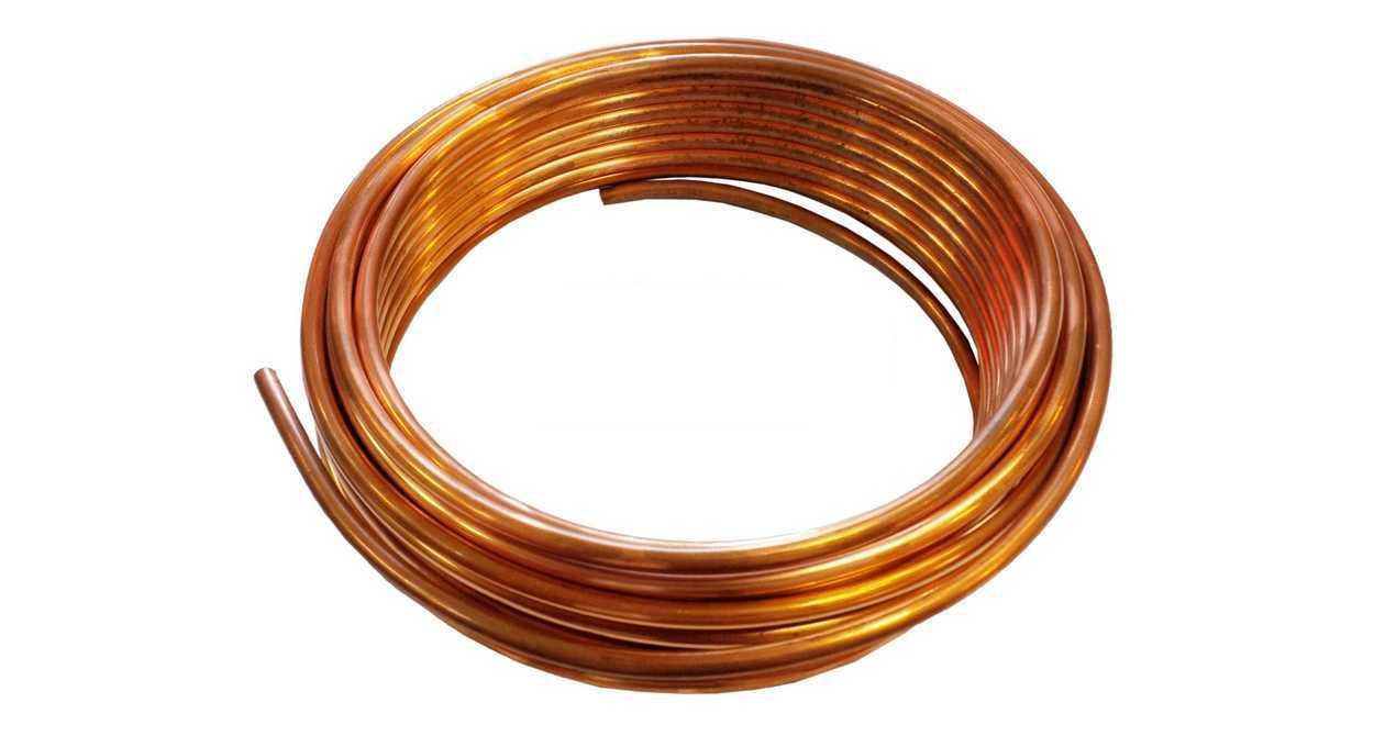 трубка труба медная fi 8 -5m провода топливные